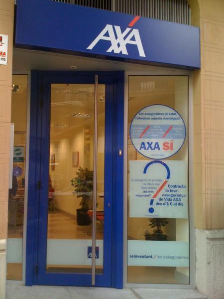 Axa seguros axa winterthur salud barcelona barcelona 08012 - Axa seguros oficinas ...